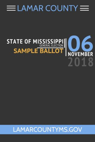 2018 Sample Ballot