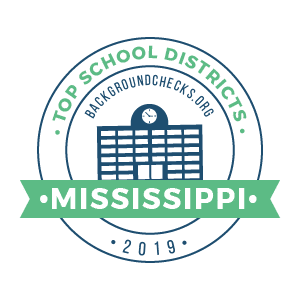top school districts, 2019 - mississippi - badge